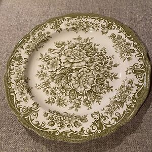 Royal Staffordshire Dinner Plate Avondale Ironstone By J & G Meakin England