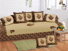 Indian Beautiful Sofa Diwan Set Diwan Cover Cushion Covers Bolster Covers
