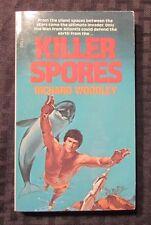 1978 MAN FROM ATLANTIS Killer Spores by Richard Woodley 1st Dell Paperback FVF