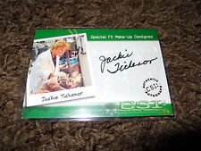 CSI Autograph Trading Card Very Limited Jackie Tichenor Special FX CSI-A19