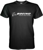 Boeing Logo T-Shirt Aerospace Aviation Size S to 3XL