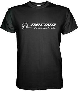 Boeing Logo T Shirt Aerospace Aviation Size S to 3XL
