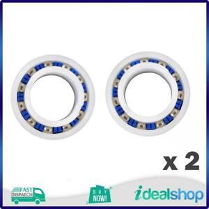 2 x Zodiac Pool Cleaner MX8, MX6, A10, Polaris 280 Ball Bearing Wheel,  W7230223