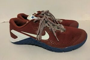 Nike Metcon 4 Men's 11.5 Americana Red White Blue Lifting Crossfit A01122-614