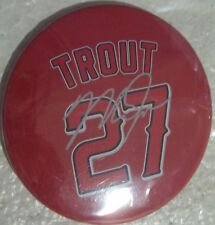 Los Angeles Angels Mike Trout #27 Red Set Of 5 Magnets Size 3X3 Inches New.