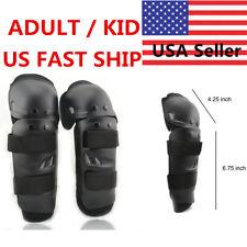 Adult Youth ATV Motorcycle Motocross Knee Shin Elbow Leg Guard Pad Protector USA