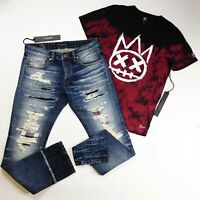 Cult of individuality 2p set mens 100%Authentic Jeans size 31 L34 and t-shirt M