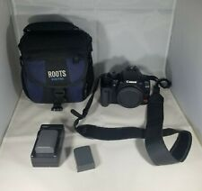 Canon EOS Rebel XTi  DSLR Camera Body Only + Case and batteries