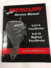 Mercury Mariner Service Shop Repair Manual 9.9 15 Hp 4 Stroke 90-856159R02
