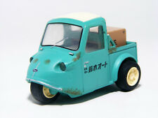 Daihatsu MIDGET MP 1964 Green Suzuki auto Three wheel Pullback Miniature Car