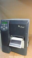 Zebra Z4M DT/TT Thermo LABEL Printer Drucker LPT RS232 Z4M00-1004-0000 TESTED