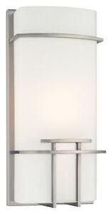 George Kovacs P465-084 1-Light ADA Wall Sconce - Brushed Nickel