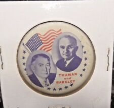 PREOWNED(REPRO?) 1948 TRUMAN AND BARKLEY CAMPAIGN PINBACK BUTTON (51317)D