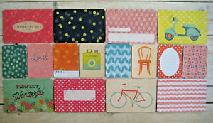 """'WONDERFUL' FIRST/LAST PROJECT LIFE CARDS BY BECKY HIGGINS -6""""X4"""" & 3""""X4"""""""