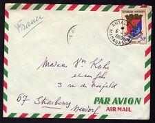 █ Enveloppe CàD Antalaha Madagascar du 06.05.1968 █