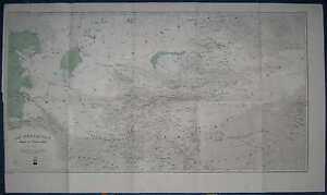 1881 Reclus map TURKESTAN (CENTRAL ASIA) (#9)
