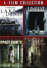 Lake Dead/Unrest/Crazy Eights/Wicked Little Things (DVD, 2011, 4-Disc Set)