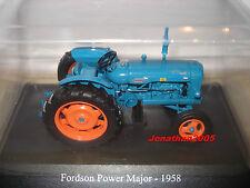 TEST HACHETTE N°4 TRACTEURS ET MONDE AGRICOLE FORDSON POWER MAJOR 1958 au 1/32°
