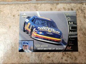 1996 Upper Deck NASCAR Trading Cards - Momentum - You Pick