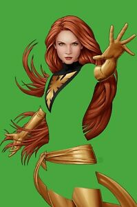 X-Men #19 John Tyler Christopher JTC Phoenix Green Negative Space Variant