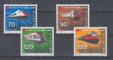 Railway - Locomotives Switzerland 1778 - 81 (MNH)