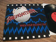 PREMONITION WHEN FOUR BECOME ONE PRIVATE PRESS ORIGINAL 1985 WOW MINT AUTOGRAPHE