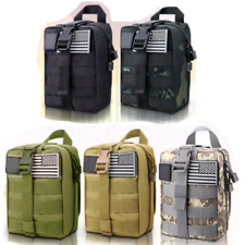 Survival Green Molle First Aid Kit Military Bag 302 Emergency Gear Piece Trauma