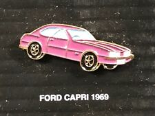 PINS PIN BADGE CAR FORD CAPRI 1969