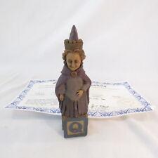 """Alphabet """"Q""""1993~Retired ~Tom Clark Gnome~Cairn Item #5285~Ed #24~w/Coa"""