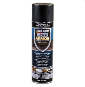 6 Pack VHT/ Duplicolor BAA2010 Bed Liner Bed Armor (TM) Spray-On Black