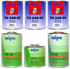 Mipa 2K-Lack RAL (6019) Weissgrün, glänzend, 5,5 Liter Set, #MP14