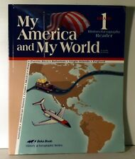 A Beka Gr. 1 My America and My World History/Geography Reader- 4th edition
