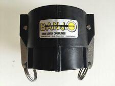 """200D 2"""" Banjo Poly Camlock Coupler"""
