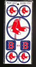 VINTAGE 1968 BOSTON RED SOX MLB PEEL OFF BASEBALL STICKER + DECAL SET SEALED