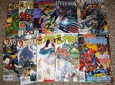 10 PETER PARKER SPIDER-MAN #14,15,18,38,45,46,47,81,15 2000 RAMOS  ROMITA JR NM