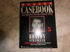 Albert DeSalvo, MURDER CASEBOOK 5, Anna Slesers, Nina Nichols, Ida Irga.