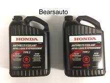 Honda Antifreeze Type 2 Coolant 3.78L x2 Acura Honda OEM Free Shipping