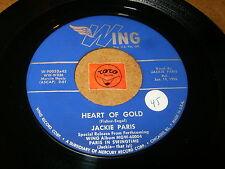 JACKIE PARIS - HEART OF GOLD - INDIANA  / LISTEN - VOCAL JAZZ POPCORN
