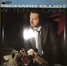 RICHARD ELLIOT After Dark, Blue Note promotional poster, 1994, 24x24, EX!