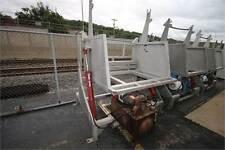 Vanmark Stainless Steel Hydraulic Hopper Dumper With 7.5 Motor
