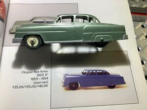 "1953 Tootsie Toy Chrysler New Yorker Semi Rare 6"" Long Nice"