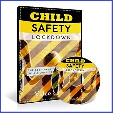 Child Safety Lock Down, Information for Parents, eBook + Video Course on DVD-ROM