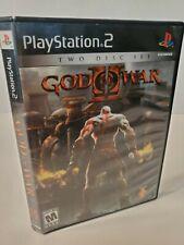 God of War II Playstation 2 PS2 Black Label Game Complete!