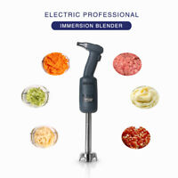 Commercial Immersion Hand Blender Mixer Kitchen Food Processor Stainless Steel