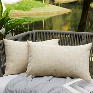 WAYIMPRESS Outdoor Pillows for Patio Furniture Waterproof Pillow Covers Square X