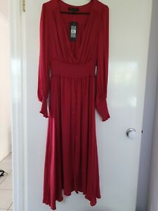 Brand NEW FOREVER NEW Evie Midi Dress Size 12