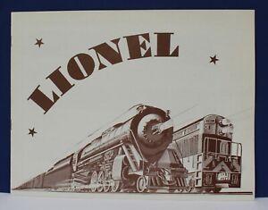 Lionel 1969 Advance Dealer Train Catalog Mint original