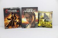 Lot of 3 Strategy Guides Tomb Raider Legend Vietcong Gears of War 2
