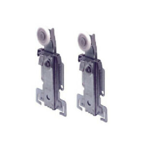 N-6550 Replacement Top Roller Wheels For Acme style Wardrobe sliding doors, Pair