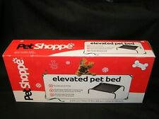 New listing Charity Petshoppe Elevated Pet Dog Cat Bed Cot 20Lbs 7 Inches Off Ground Mesh
